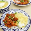 Stock Photo: Chicken tagine meal vertical