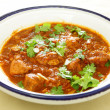 Chicken and tomato tagine stew — Stock Photo