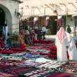 Morning in Souq Waqif, Qatar - Stock Photo