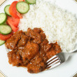 Stock Photo: Chicken tikkmasala