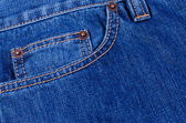 Pocket blue jeans — Stock Photo