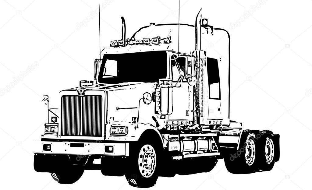 Truck Vector Stock Vector 169 Roman101 8481067