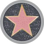 Hollywood Star — Stock Vector