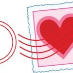 Постер, плакат: Love Letter Stamp