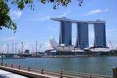 Marina Bay Sands, singapore — Stock Photo