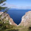 Olkhon island, Baikal lake, Russia - Stock Photo