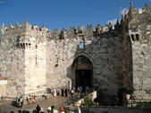 Damascus Gate in Jerusalem — Stock Photo