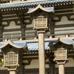 Three Chinese Lanterns — Stock Photo