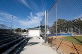 School stadium — Stock Photo