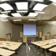 Lecture Classroom at College — Stock Photo