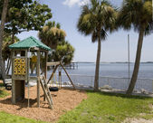 Park in Melbourne, Florida — Stock Photo