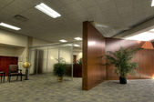 Interior of Office Lobby — Stock Photo