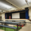 Cafeteria at Elementary School — Stock Photo #8540324