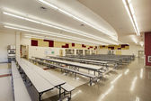 Cafeteria at High School — Stock Photo