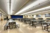 Interior of high school — Stock Photo
