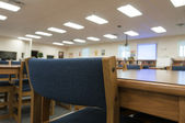 Media Center at Elementary School — Stockfoto