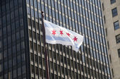 Chicago Flag — Stock Photo