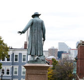 Statue at Bunker Hill Monument — Stock Photo