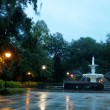 Fountain in Savannah — Foto Stock