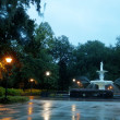 Fountain in Savannah — Stock Photo