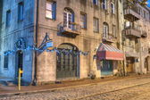 Stores in Savannah — Stock Photo