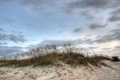 Nascer do sol em tybee island — Foto Stock