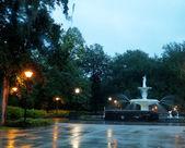 Fountain in Savannah — Stock Photo