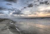 восход солнца в тайби-айленд — Стоковое фото