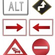 Road signs — Foto Stock