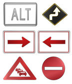 Road signs — Stockfoto