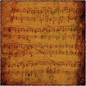 Abstract old sheet music — Stock Photo