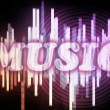 Abstract music background — Foto Stock