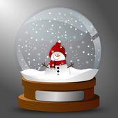Globo di neve — Vettoriale Stock