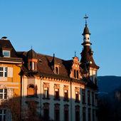 Bolzano Bozen : Piazza Walther von der Vogelweide — Stock Photo