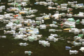 Polluted river — Stock Photo
