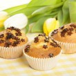 Home baked muffins — Stock Photo #8694314
