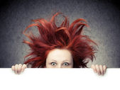 Bad hair day — Stock Photo