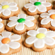 Gingerbread cookies - 图库照片