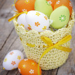 Decorated Easter eggs — Stock Photo #9684333