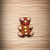 Gingerbread bear — Stockfoto