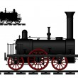 Locomotive - Stock Vector