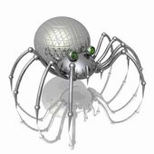 Robot-spider. — Stock Photo