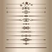 Decorative lines — Stock Vector