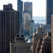 Among Manhattan's Skyscrapers 2 — Stock Photo