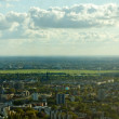 View of Berlin with former Airport Tempelhof — Stockfoto #8225159