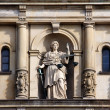 Lady Justice with Scale and Sword — Foto de Stock