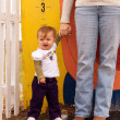 Child Height Measure — Stock Photo