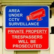 Royalty-Free Stock Photo: CCTV sign