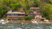 Vacation house in sea shore — Stock Photo