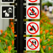 Stock Photo: Singapore Roadsigns